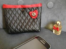 3718230ac587 étui etui iphone i phone poche pochette housse tissu portable ...