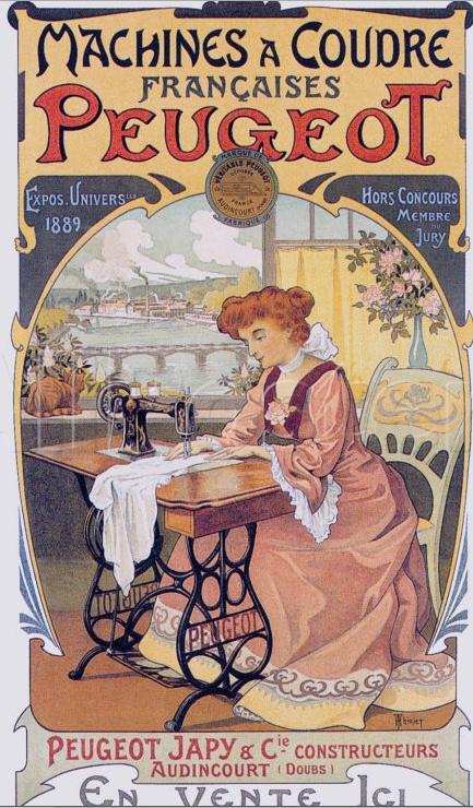 Les affiches du temps passé quand la pub s'appelait réclame .. - Page 23 Machine